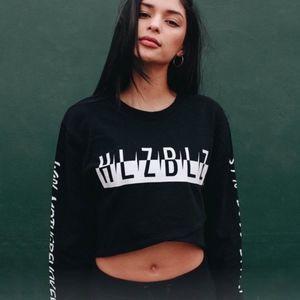 HLZBLZ Tops - NEW HLZBLZ Black Long Sleeve Crop Top